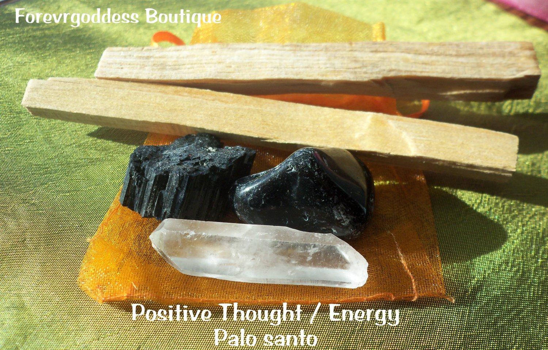 Positive thought- energy /Palo Santo