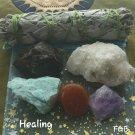 Manifest crystal quartz-Healing  set#04