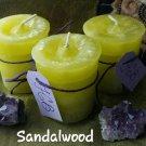Sandalwood  votive