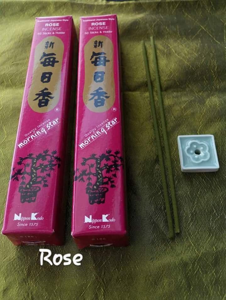 Morning star Rose incense