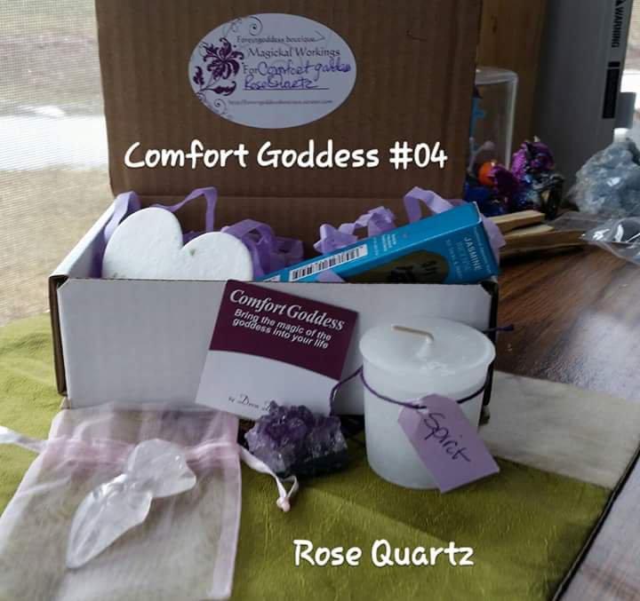 Comfort Goddess Rose quartz #CGRQ04