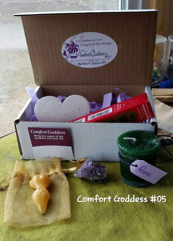 Comfort Goddess Golden Calcite #CGGC05