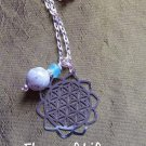 Flower of life amazonite