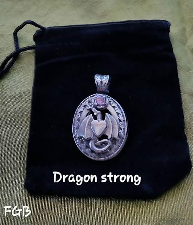 Dragon Strong pendant