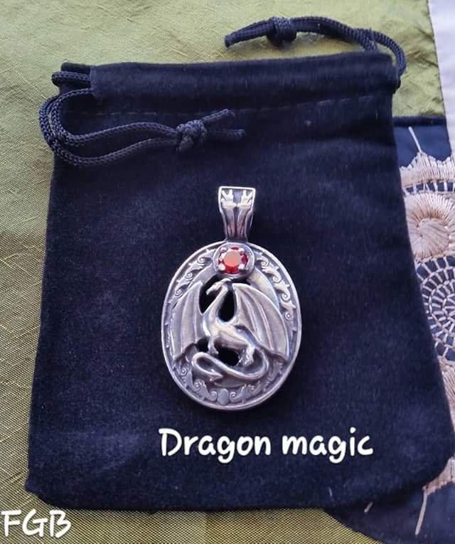 Dragon Magic pendants