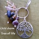 Child charm -tree of life