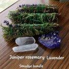 Juniper rosemary lavender bundle