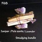 Juniper palo santo bundles