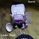 Small cedar / Sage Smudge set