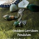 Goddess Cerridwen pendulum