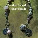 Goddess Aphrodite prayer beads