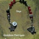 Goddess Morrigan prayer  beads