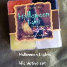 Halloween Lights Square votive set