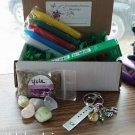 Yule/ Winter Solstice box #03 yule keychain )0(