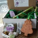 Yule/ Winter Solstice box #04 clay ornament