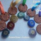 Chakra gemstone set and Chakra diffusers ornaments