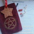 Carnelian pendulum ornaments sachet set