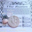 Berkana Runic clay ornament