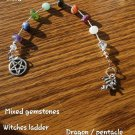 Witches ladder mixed gemstone Dragon