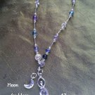 13 moon Flourite Goddess prayer beads