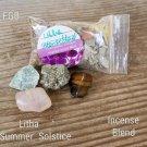 Sabbats Crystal / herbs –Litha  Midsummer # LS 03-05