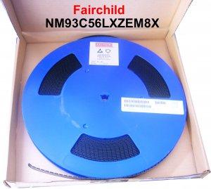 NM93C56LZEM8X  (10 Pcs) 2048-Bit Serial CMOS EEPROM (In Stock)