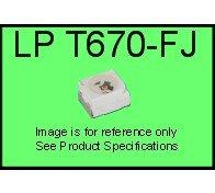 LS T670-FJ TOPLED®, SMD Pure Green, 10pcs (In Stock)