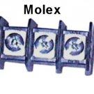 73503-45, Molex BEAU PCB Barrier Terminal Strip, 3P, 73 Series, .438, Full Sides, [Loc J]