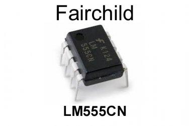 LM555CN, Fairchild, Timer, PDIP-8, 4.5 V to 16 V, [4 PCS] [O]