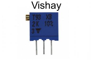 T93XB202KT20, Vishay, Trimmer Resistors - Multi Turn, 2K, [EA] [O]
