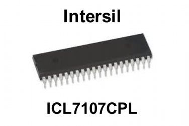 ICL7106CPL, Intersil, LED Display 3.5 Digit A/D Converter, [O]