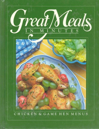 Time Life Cookbook Chicken and Game Hens Poultry