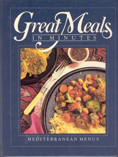 Time Life Cookbook Mediterranean Menus