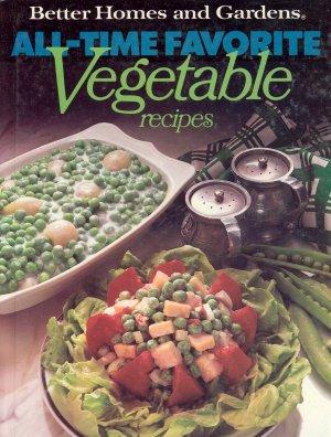 Better Homes and Gardens Cookbook Vegetables