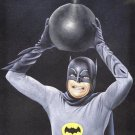 Batman 1960's Adam west world greatest detective black velvet oil painting