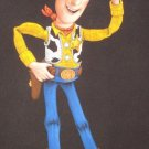 woody toy story black velvet oil painting, is 100% handpainted