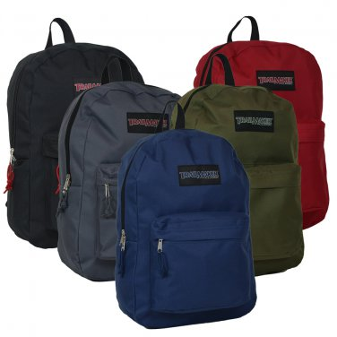 """Trailmaker Classic 17"""" Backpacks (24) Wholesale Case New With Tags"""
