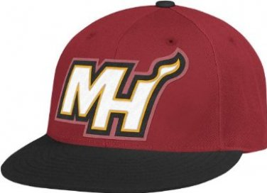 Miami Heat NBA Adidas Hats New