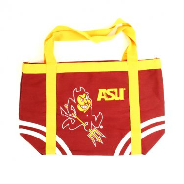 Arizona State Sun Devils NCAA Canvas Tote Bag New With Tags