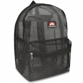 Mesh Black Backpack New With Tags