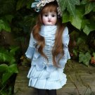 Old Antique German Cabinet Sized German Bisque Head Kestner Doll ~BEAUTIFUL!~