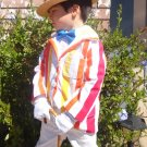Mary Poppins Bert Costume Custom Made Stripe Suit Coat from the Jolly Holiday