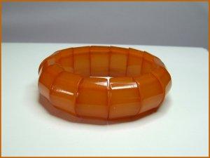 Vintage Chunky Baltic Amber Stretch Bracelet