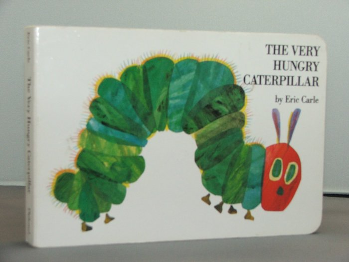 "The Very Hungry Caterpillar"" by Eric Carle- First Edition Board Print"