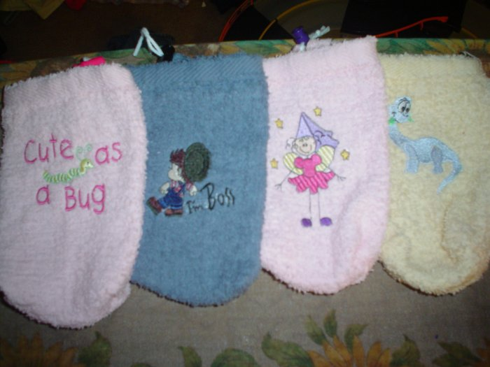 Washcloth Bottle Carriers