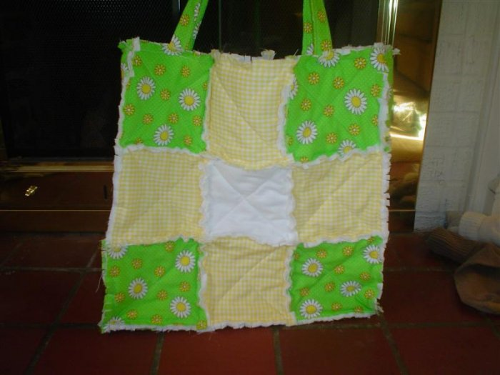 Large Flower Tote