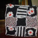 Black and white Rag Tote