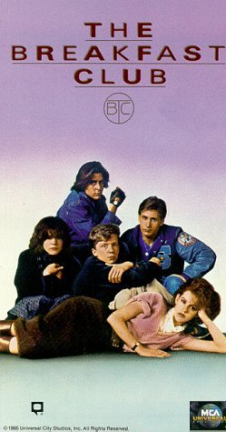 THE BREAKFAST CLUB VHS