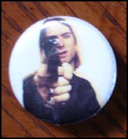 Kurt Cobain button