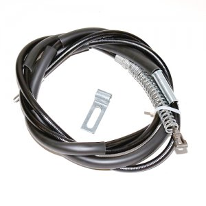 "Parking Brake Cable - 1999-04 Chevy Silverado/GMC Sierra HD 1/2-3/4 ton-134"" WB-Rear Right - 95504"